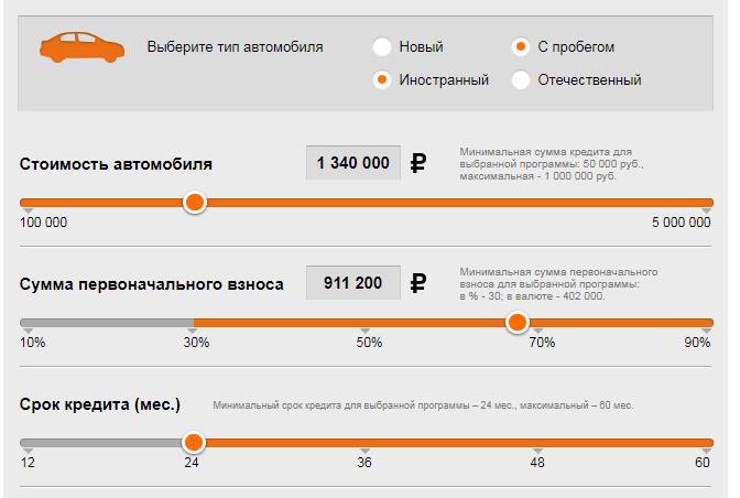 Примеры использования Кредит Лоджик Русфинанс Банк