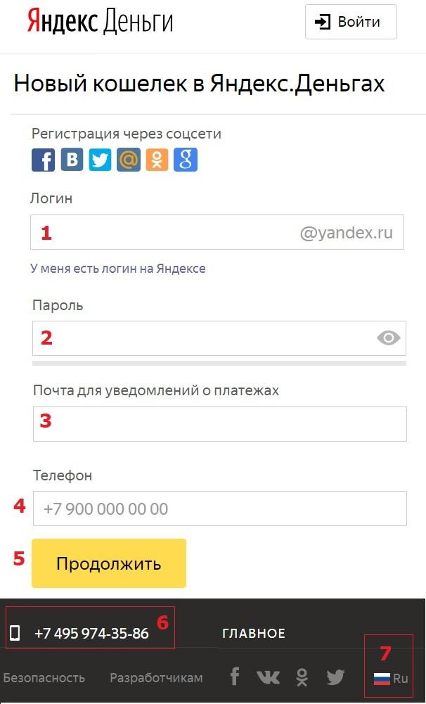 Как завести кошелек Яндекс Деньги