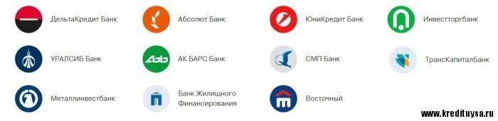 Партнёры банка